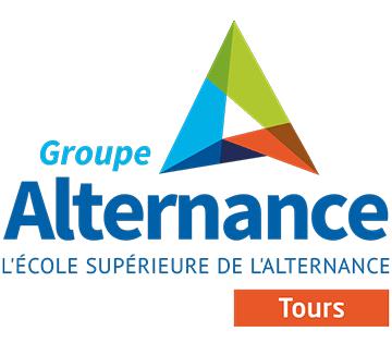 logo groupe alternance tours